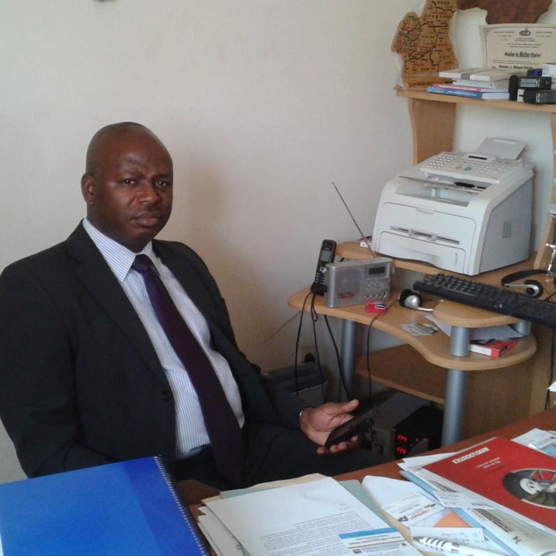 Fabien-Omboudou Ndjina CEO Cameroon Engineering Limited